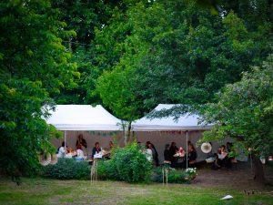 rendezvény sátor