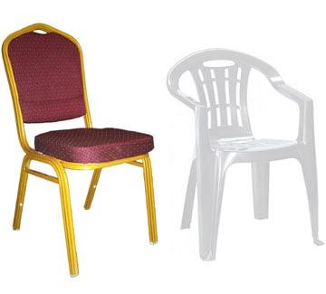 Műanyag szék bérlés rendezvényekre, Zala megye. Kvártélyház